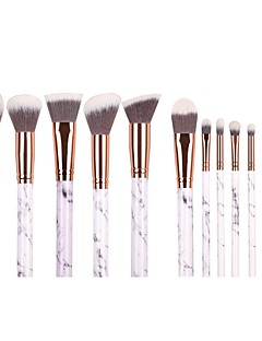 cheap Makeup Brushes-10pcs Makeup Brushes Professional Blush Brush Eyeshadow Brush Makeup Brush Set Powder Brush Synthetic Hair Eco-friendly / Professional / Soft Marble / Granite / Plastic