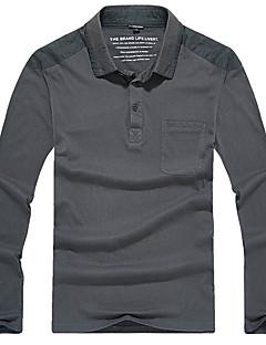 baratos Camisetas para Trilhas-Homens Camiseta de Trilha Ao ar livre Secagem Rápida Redutor de Suor Respirabilidade Camiseta N / D Acampar e Caminhar Exercicio Exterior