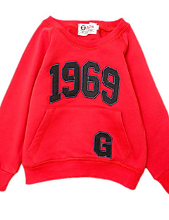 billige Hættetrøjer og sweatshirts til drenge-Børn Drenge Trykt mønster Langærmet Hættetrøje og sweatshirt