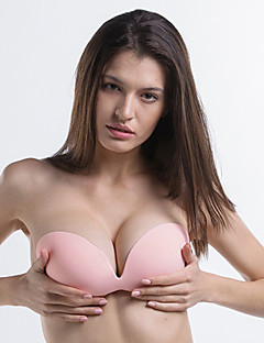 billige BH'er-Kvinner Sexy BH Vann / gel-BH 1/2-kopp - Ensfarget