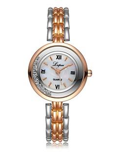 billige Armbåndsure-Dame Armbåndsur Kinesisk Kronograf / Imiteret Diamant / Afslappet Ur Legering Bånd Luksus / Mode Sølv / Guld