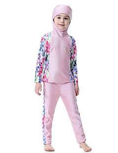 cheap Boys' Swimwear-Kids Girls' Polka Dot Patchwork Swimwear