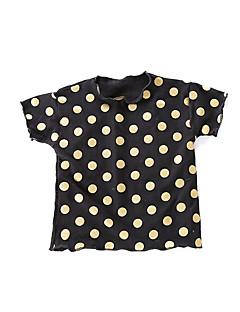 billige Babyoverdele-Baby Unisex Prikker Kortærmet T-shirt