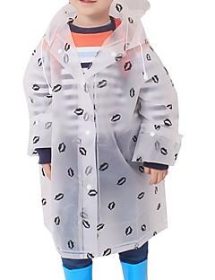 billige Jakker og frakker til piger-Børn Unisex Trykt mønster Langærmet Trenchcoat