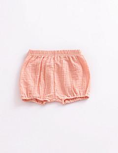 billige Babytøj-baby unisex søde solid farvede shorts