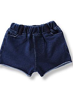 billige Babyunderdele-Baby Unisex Sødt Ensfarvet Shorts