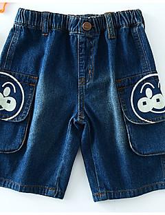 billige Bukser og leggings til piger-Børn Unisex Trykt mønster Jeans