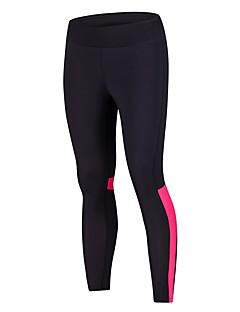 billiga Träning-, jogging- och yogakläder-BARBOK Dam Nät / Lappverk Yoga byxor - Svart / grön, Svart / Rosa sporter Mesh Cykling Tights Löpning, Fitness, Gym Sportkläder Lättvikt, Andningsfunktion, Snabb tork Elastisk