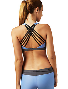 cheap Fitness, Running & Yoga Clothing-Women's Sports Bra - Blue, Pink Sports Underwear / Top Yoga, Pilates, Exercise & Fitness Quick Dry, Breathable, Seamless High Elasticity
