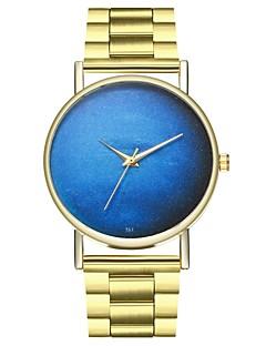 billige Modeure-Herre / Dame Modeur Kinesisk Kronograf Rustfrit stål Bånd Mode Guld