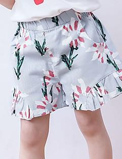 billige Bukser og leggings til piger-Børn Pige Jacquard Vævning Shorts