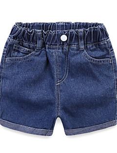 billige Bukser og leggings til piger-Børn / Baby Pige Ensfarvet Shorts