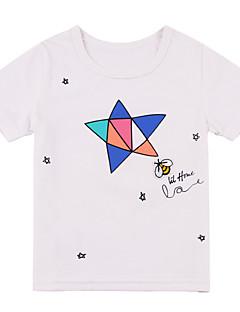 billige Overdele til drenge-Baby Drenge Geometrisk / Farveblok Kortærmet T-shirt