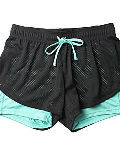 baratos Calças e Shorts para Trilhas-Mulheres Shorts de Trilha / Bermuda de Surf Ao ar livre Secagem Rápida, Respirabilidade, Redutor de Suor Shorts / Calças Exercicio