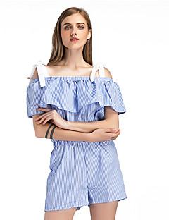 Χαμηλού Κόστους Παντελόνια Φούστες-Γυναικεία Βασικό Ολόσωμα - Ριγέ, Στάμπα