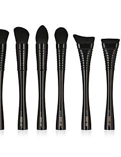 billiga Sminkborstar-7 st Makeupborstar Professionell Rougeborste / Läppensel / Eyelinerborste Nylon fiber Ny Design / Professionell / Fullständig Täckning
