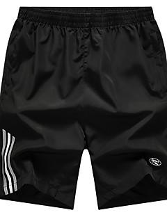 billige Herrebukser og -shorts-Herre Løstsittende Joggebukser Bukser Ensfarget / Sport