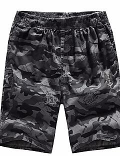 billige Herrebukser og -shorts-Herre Militær Joggebukser / Shorts Bukser Kamuflasje