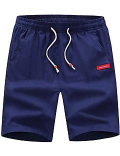 billige Herrebukser og -shorts-Herre Grunnleggende Joggebukser Bukser Geometrisk