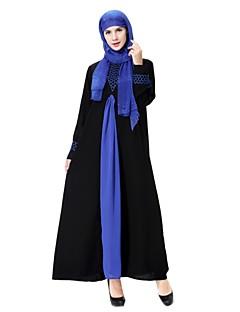 baratos Vestidos-Mulheres Festa Lã balanço / Abaya / Kaftan Vestido Médio
