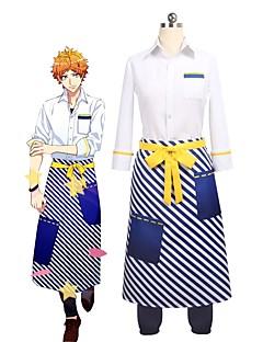 """billige Anime cosplay-Inspirert av Cosplay Cosplay Anime  """"Cosplay-kostymer"""" Cosplay Klær Annen 3/4 ermer Trøye / Bukser / Forkle Til Unisex Halloween-kostymer"""