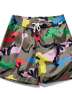 billige Herrebukser og -shorts-Herre Grunnleggende Joggebukser Bukser Kamuflasje