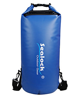 お買い得  防水バッグ & 防水ケース-Sealock 28 L 防水ドライバッグ 防水ファスナー, 耐久性 のために 水泳 / 潜水 / サーフィン