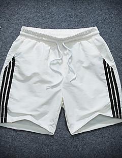 billige Herrebukser og -shorts-Herre Tynn Chinos Bukser - Ensfarget Svart