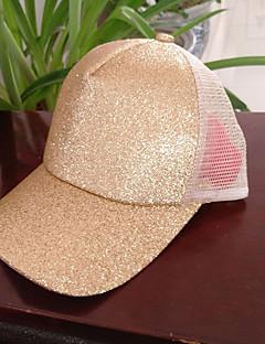 billige Hatter til damer-Dame Fest / Aktiv Baseballcaps - Netting, Lapper