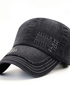 billige Trendy hatter-Herre Vintage / Kontor Baseballcaps Stripet