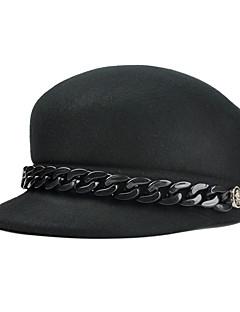 billige Trendy hatter-Dame Aktiv / Ferie Bøttehatt Ensfarget