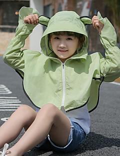 tanie Odzież turystyczna-Dla dziewczynek Płaszcz przeciwdeszczowy Na wolnym powietrzu Oddychalność, Odporny na UV Kurtka Zamki SBS Piesze wycieczki, Kemping, Podróże