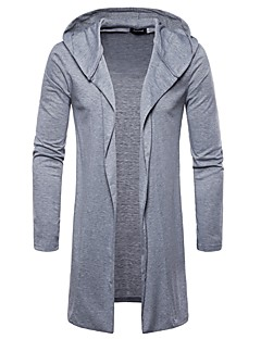 baratos Suéteres & Cardigans Masculinos-Homens Básico Carregam - Sólido
