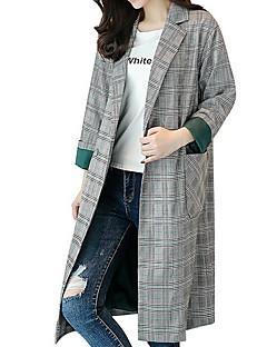 ieftine Îmbrăcăminte Damă de Exterior-Pentru femei Haină Trench De Bază - Mată