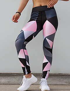 Χαμηλού Κόστους Γυναικεία Παντελόνια & Φούστες-Γυναικεία Αθλητικό Γκέτα - Γεωμετρικό Μεσαία Μέση