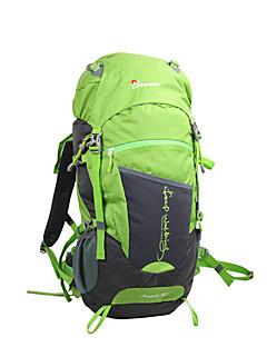 billiga Ryggsäckar och väskor-50 L Ryggsäck - Mateial som andas Utomhus Camping 100g / m2 Polyester Stretch Orange, Grön, Blå