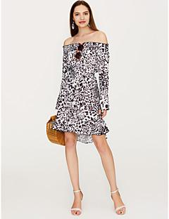 Χαμηλού Κόστους Off Shoulder-Γυναικεία Εξόδου Λεπτό Θήκη Φόρεμα Μίνι Χαμόγελο