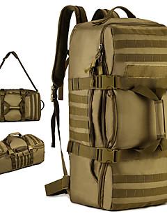 billiga Ryggsäckar och väskor-60 L Ryggsäckar / Ryggsäck - Regnsäker, Bärbar Utomhus Camping, Militär, Resor Nylon Brun, Grå, Kamoflage