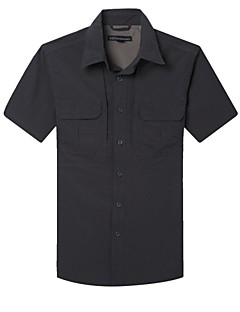 tanie Koszulki turystyczne-Męskie T-shirt turystyczny Na wolnym powietrzu Szybkie wysychanie, Anatomiczny kształt, Oddychalność T-shirt Przypadkowy / Ćwiczenia na zewnątrz / Wspinaczka górska