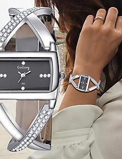 cheap Bracelet Watches-Women's Bracelet Watch Wrist Watch Quartz Leather Black / White Chronograph Creative New Design Analog Ladies Bangle Elegant - White Black One Year Battery Life / SSUO 377
