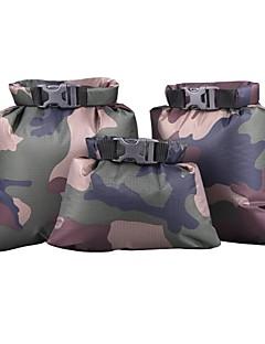 billiga Ryggsäckar och väskor-3.5 L Förvaringspåsar - Utomhusträning, Camping / Vandring / Grottkrypning Vattentät, Bärbar, Mini Polyester Taffeta Rubinrött, Mörkblå, Ljusblå