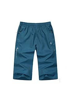 baratos Calças e Shorts para Trilhas-Homens Shorts de Trilha Ao ar livre Secagem Rápida Shorts Exercicio Exterior