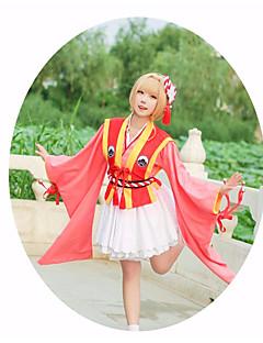 """billige Anime cosplay-Inspirert av Cardcaptor Sakura Kinomoto Sakura Anime  """"Cosplay-kostymer"""" Cosplay Klær Stjerner Midje Tilbehør / Hodeplagg / Kostume Til Dame Halloween-kostymer"""