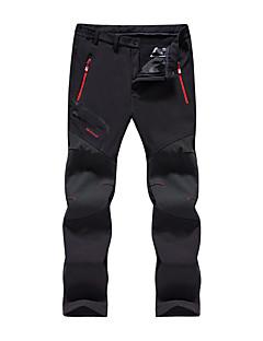 tanie Odzież turystyczna-Męskie Spodnie turystyczne Na wolnym powietrzu Odporność na wiatr, Oddychalność, Zdatny do noszenia Jesień, Zima Spodnie Ćwiczenia na zewnątrz Multisport XXXL 4XL 5XL / Elastyczny