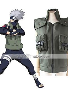 """billige Anime Kostymer-Inspirert av Naruto Cookie Anime Anime  """"Cosplay-kostymer"""" Cosplay Topper / Underdele Animé Ermeløs Vest Til Unisex"""