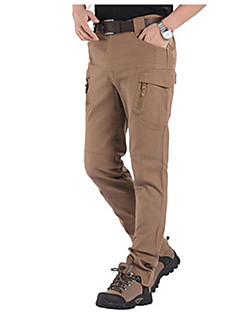 baratos Calças e Shorts para Trilhas-Homens Calças de Trilha Ao ar livre A Prova de Vento, Secagem Rápida, Respirabilidade Elastano Calças Exercicio Exterior