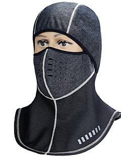 billige Sykkelklær-INBIKE Ansiktsmaske Høst / Vinter Vindtett / Vanntett / Hold Varm Sykling / Sykkel / Vintersport / Motorsykkel Unisex Netting / Kordfløyel / Mikroelastisk