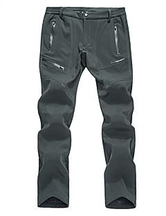 tanie Turystyczne spodnie i szorty-Męskie Spodnie turystyczne Na wolnym powietrzu Ochrona przed deszczem, Oddychalność, Zdatny do noszenia Zima Spodnie, Doły Piesze wycieczki Ćwiczenia na zewnątrz XXXL 4XL 5XL / Średnio elastyczny