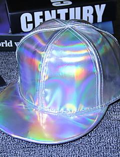 billige Hatter til damer-Herre Baseballcaps Ensfarget Polyester