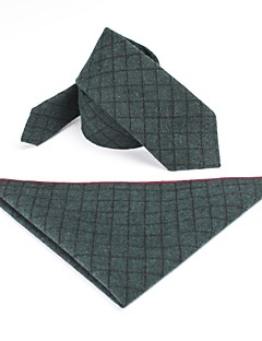 tanie Pan młody i drużbowie-Męskie Impreza / Praca Krawat Geometric Shape